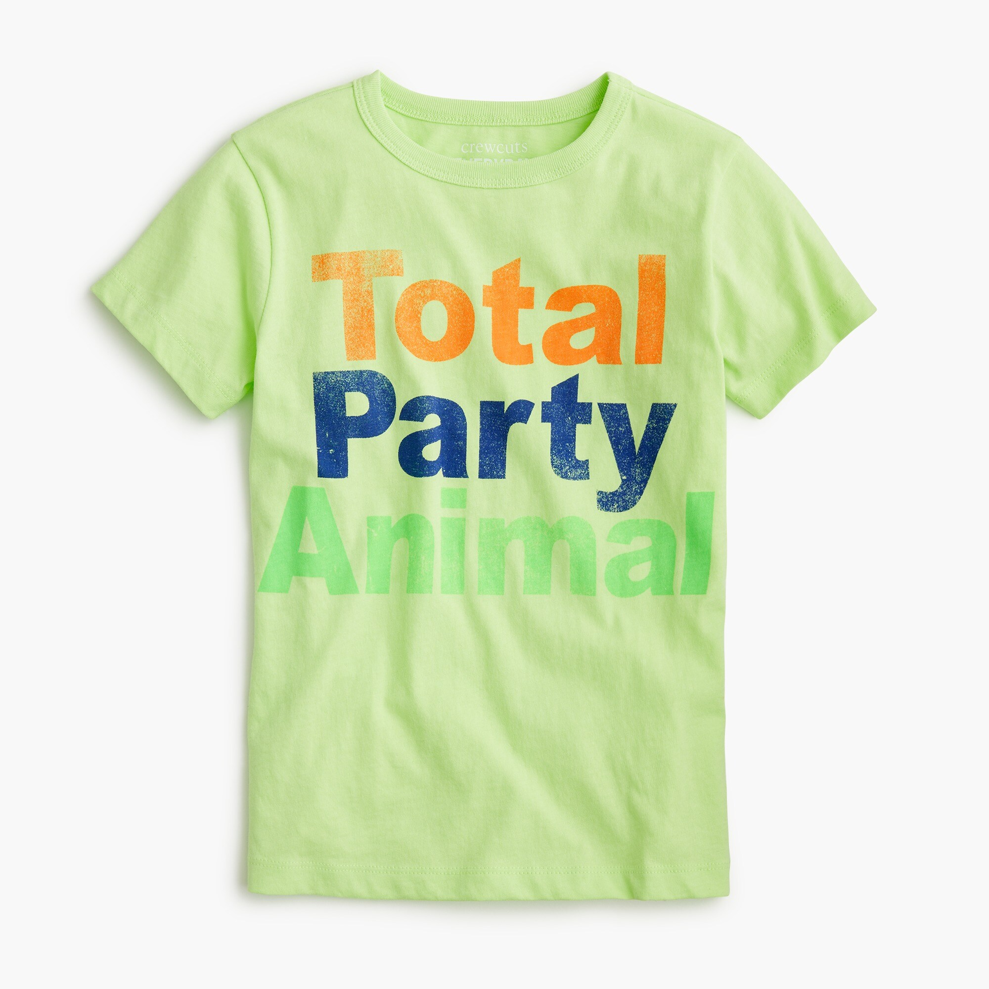 "boys Kids' ""total party animal"" T-shirt"