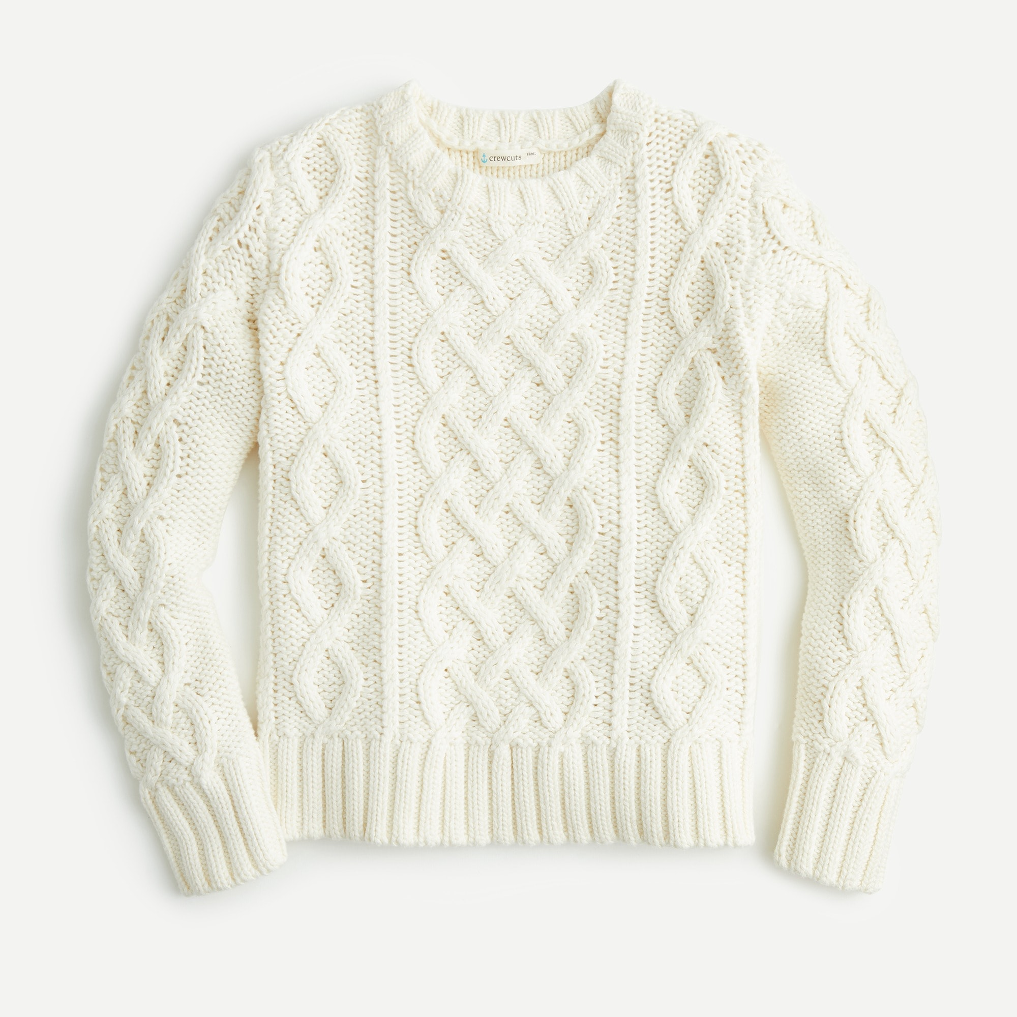 boys Kids' cable-knit sweater