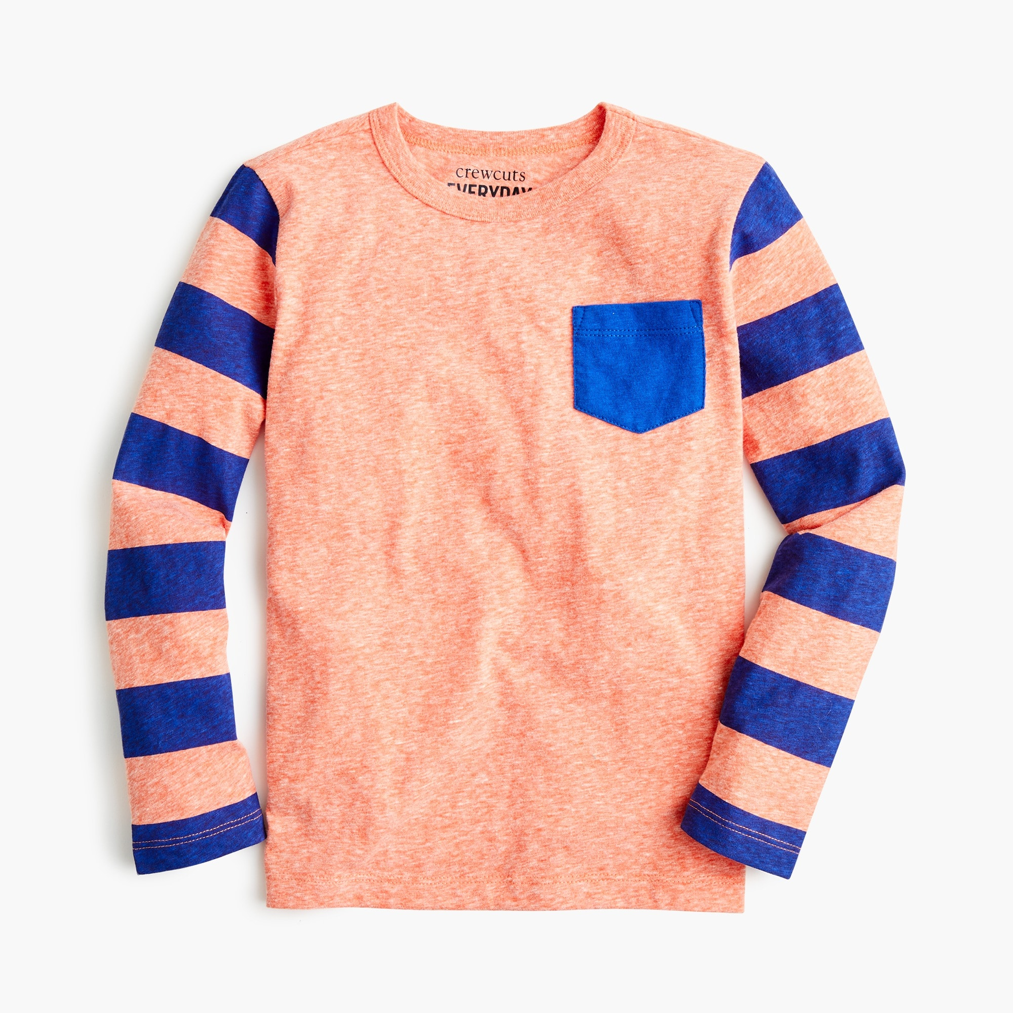 boys Boys' striped long-sleeve T-shirt in the softest jersey