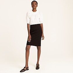 No. 2 Pencil® skirt in stretch twill