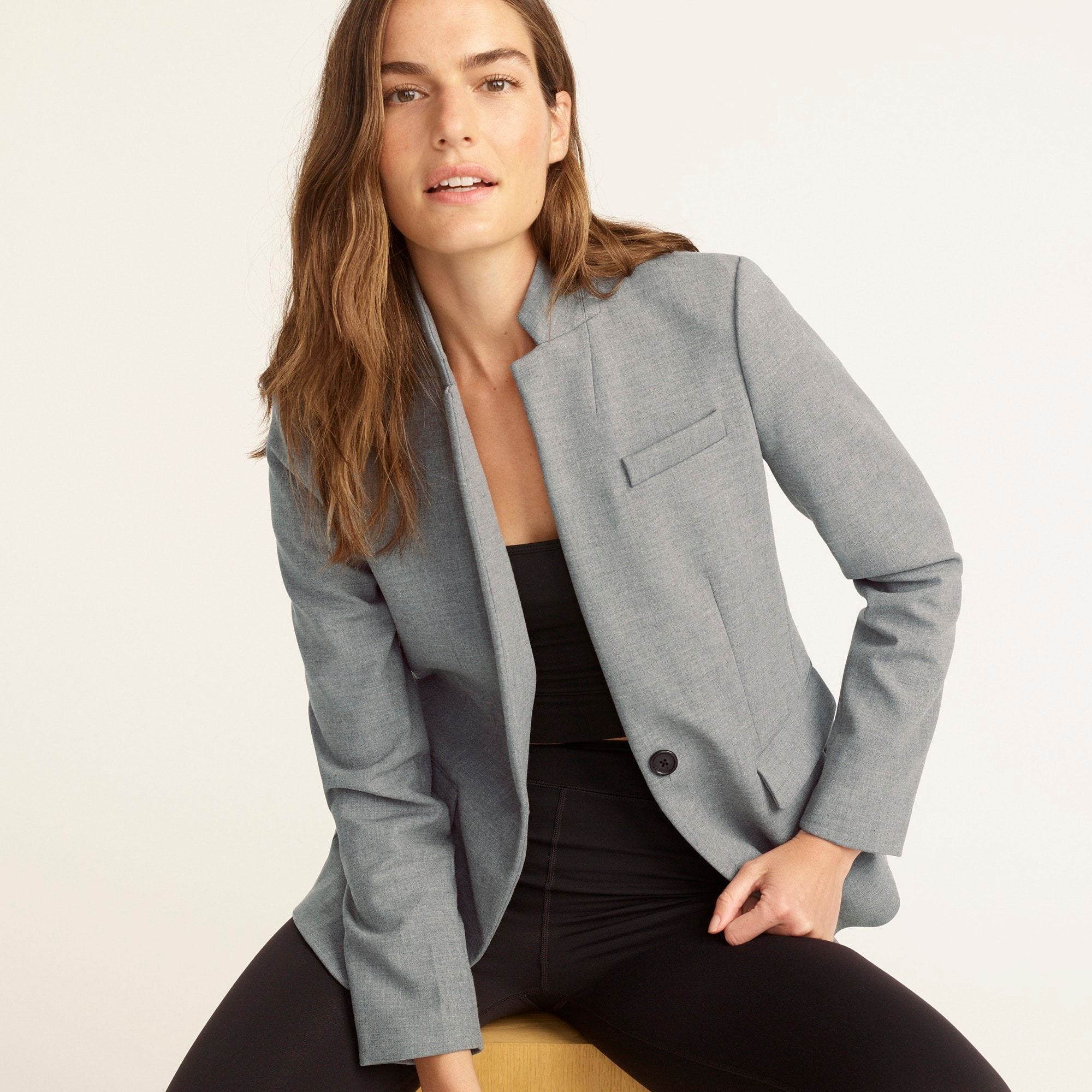 womens Regent blazer in four-season stretch