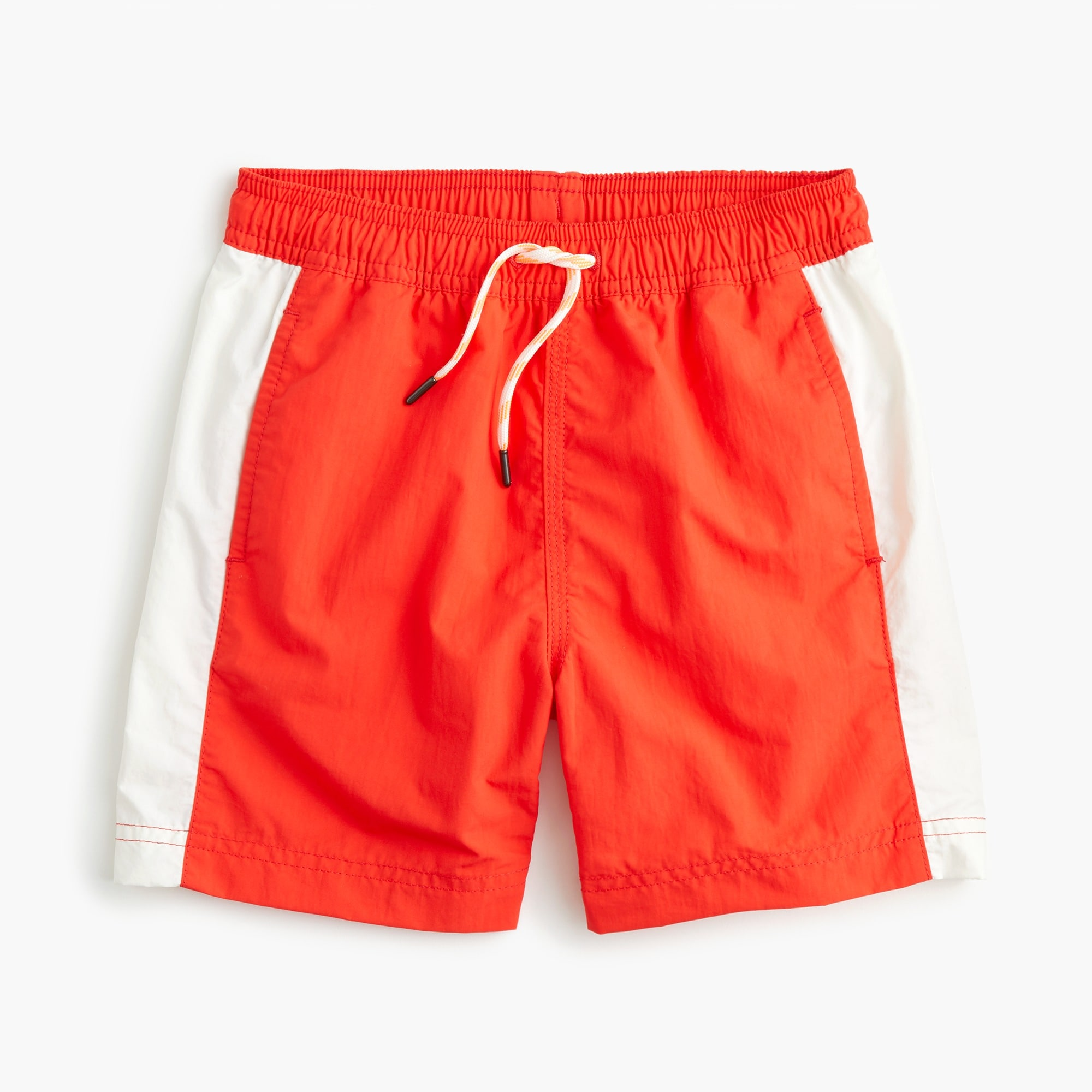 boys Boys' swim trunk with side stripes