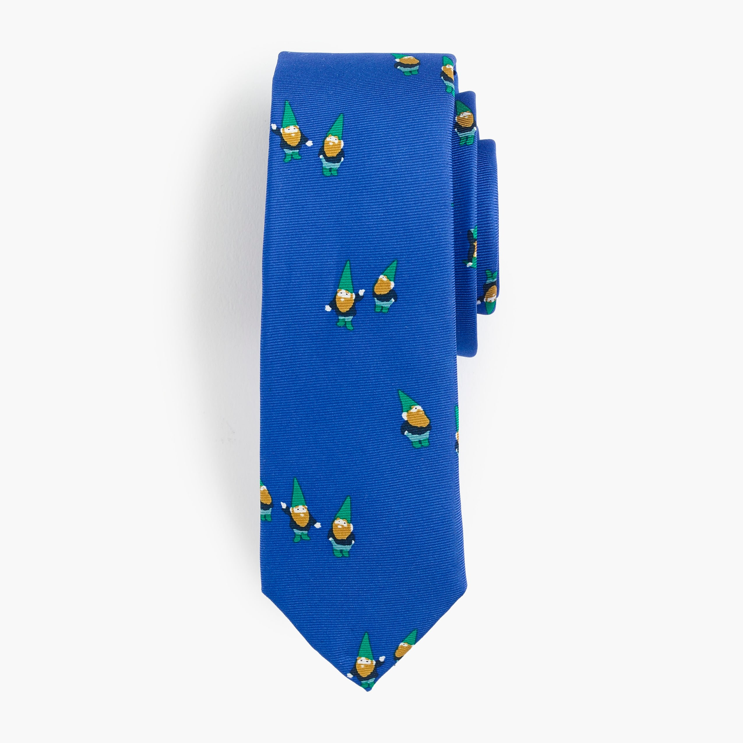 boys Boys' silk tie in gnome print