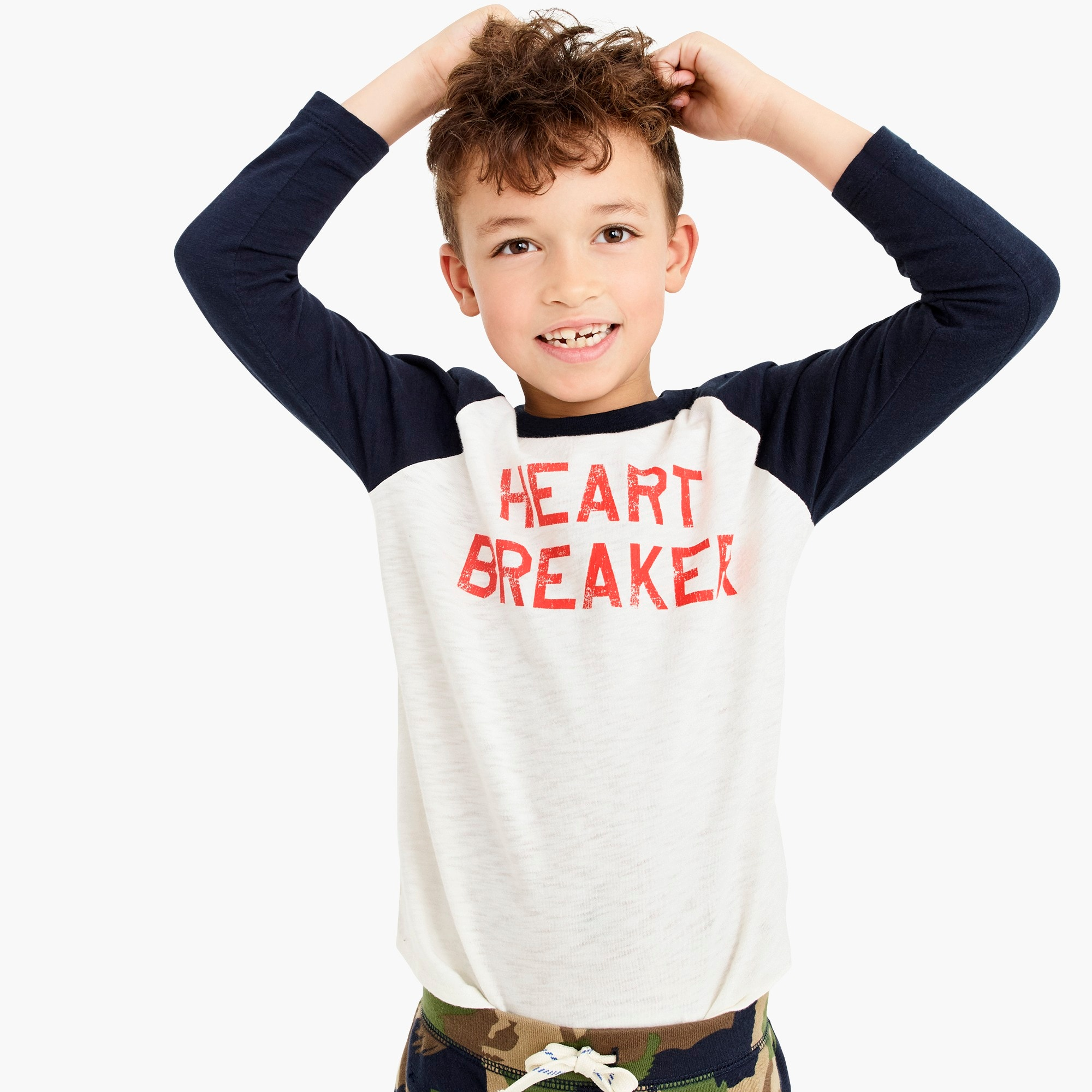 "boys Kids' ""heartbreaker"" T-shirt"