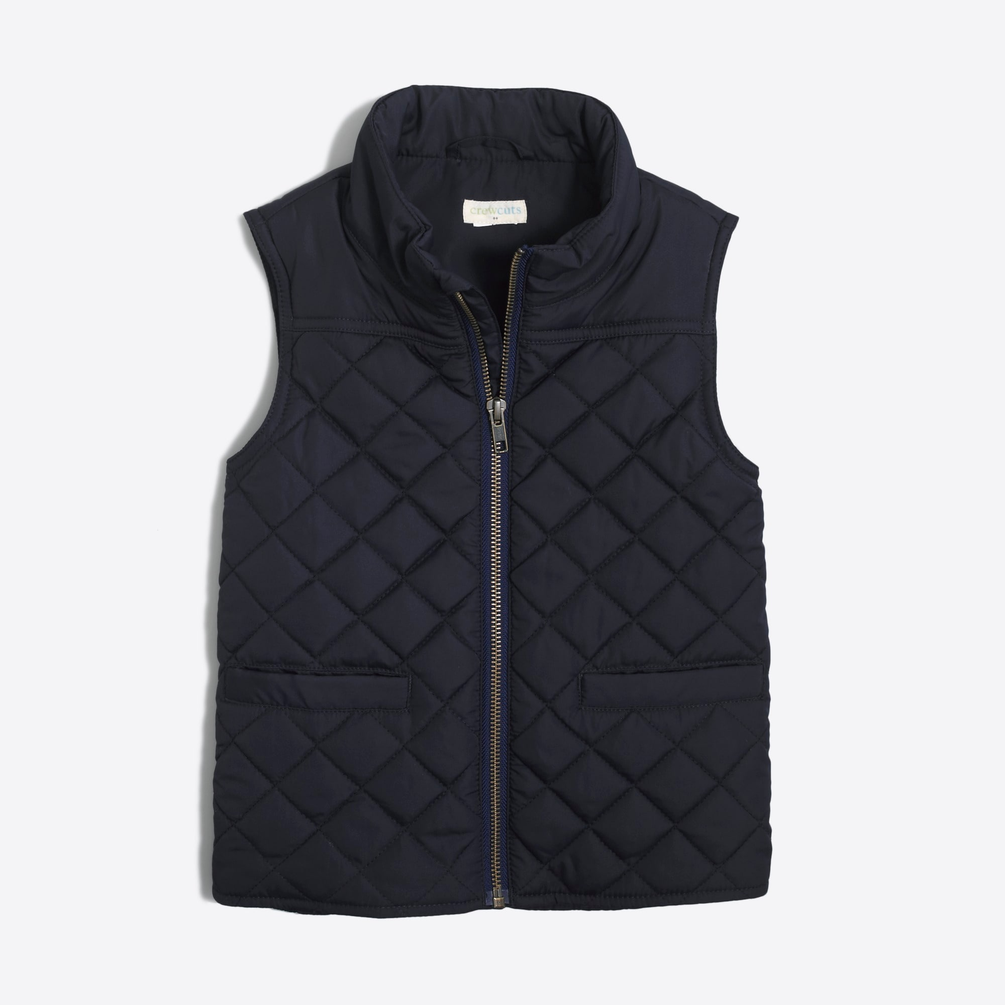 boys J.Crew Mercantile Sussex quilted vest