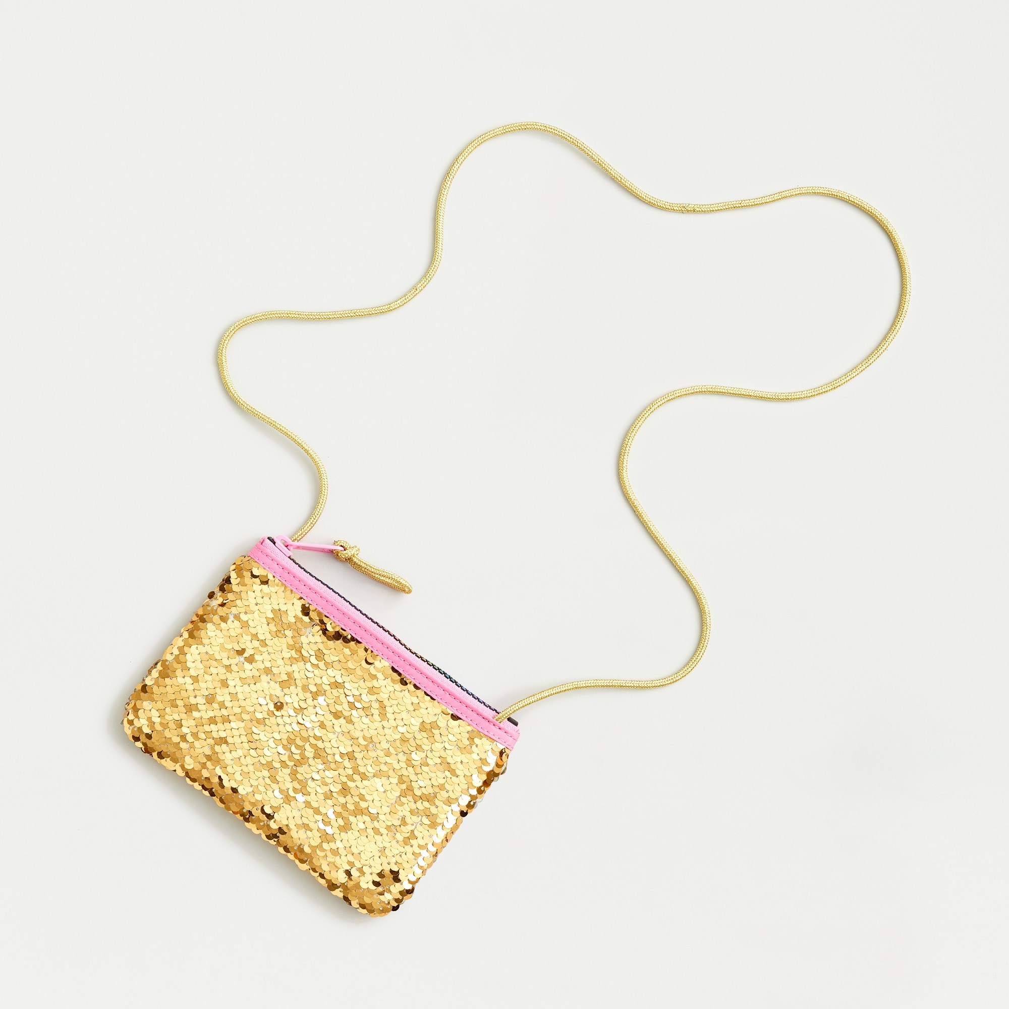 girls Girls' pouchette with reversible sequins