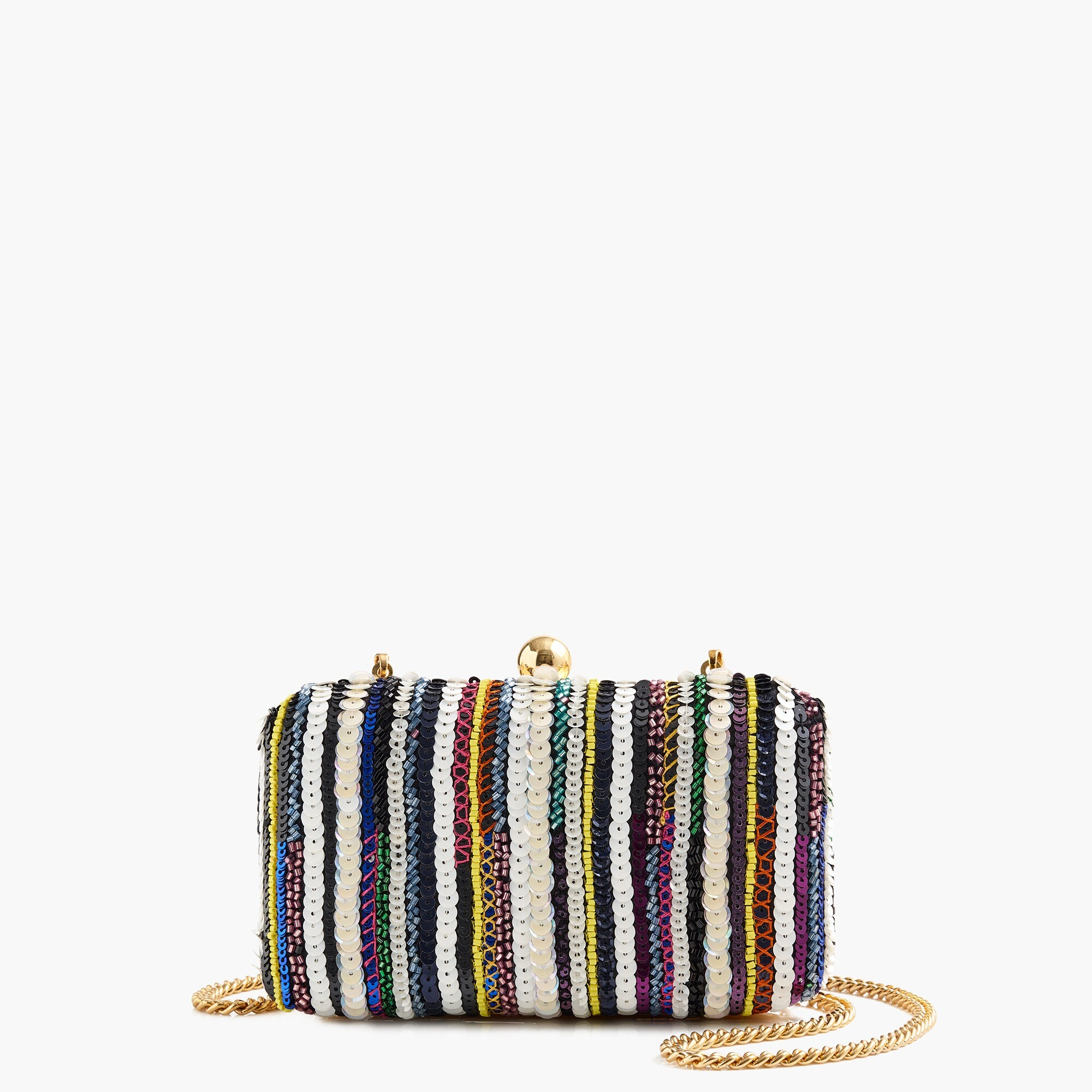 womens Beaded minaudière