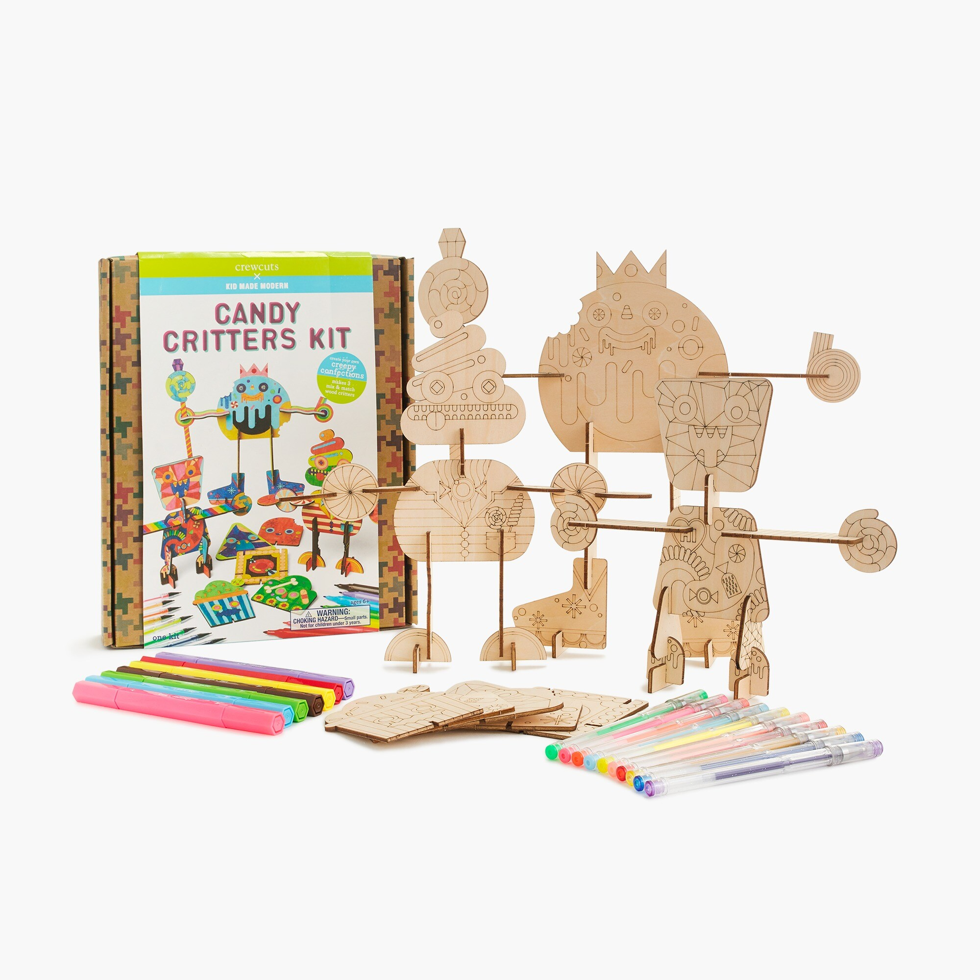 girls Kids' crewcuts x Kid Made Modern candy critters kit