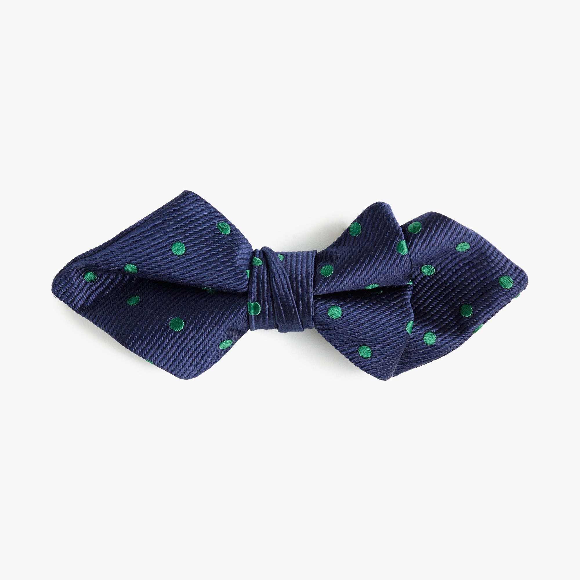 boys Boys' silk bow tie in polka dots