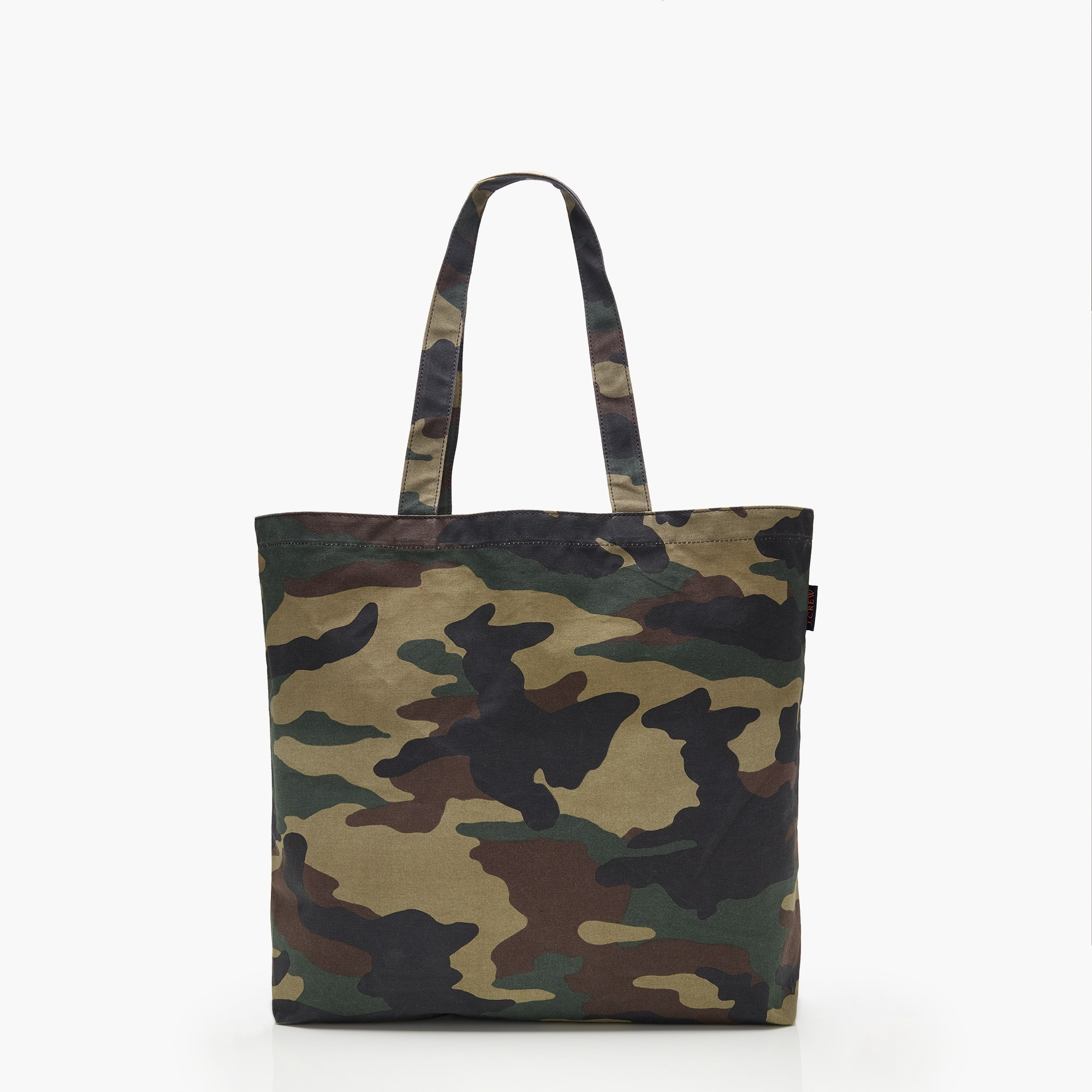 womens Large reusable everyday tote in camo