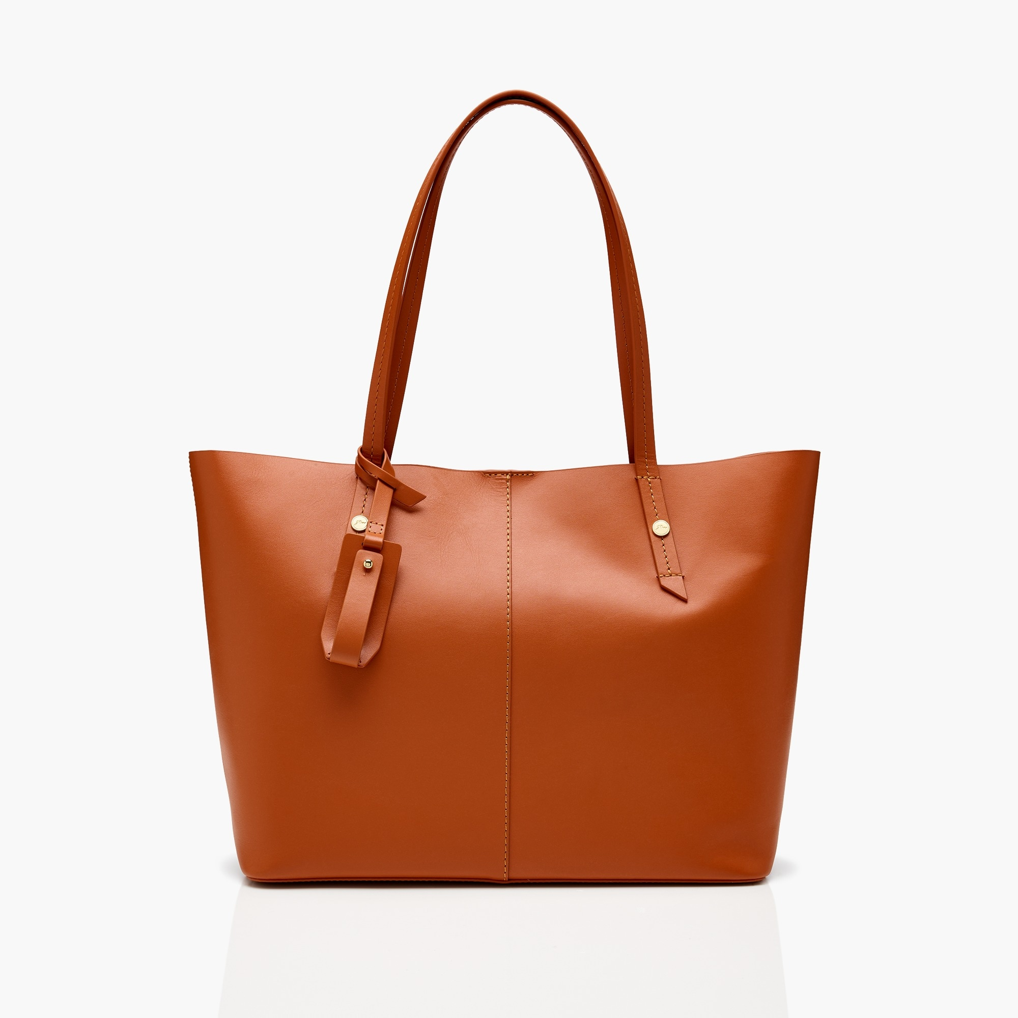 womens Harper east-west tote in Italian leather