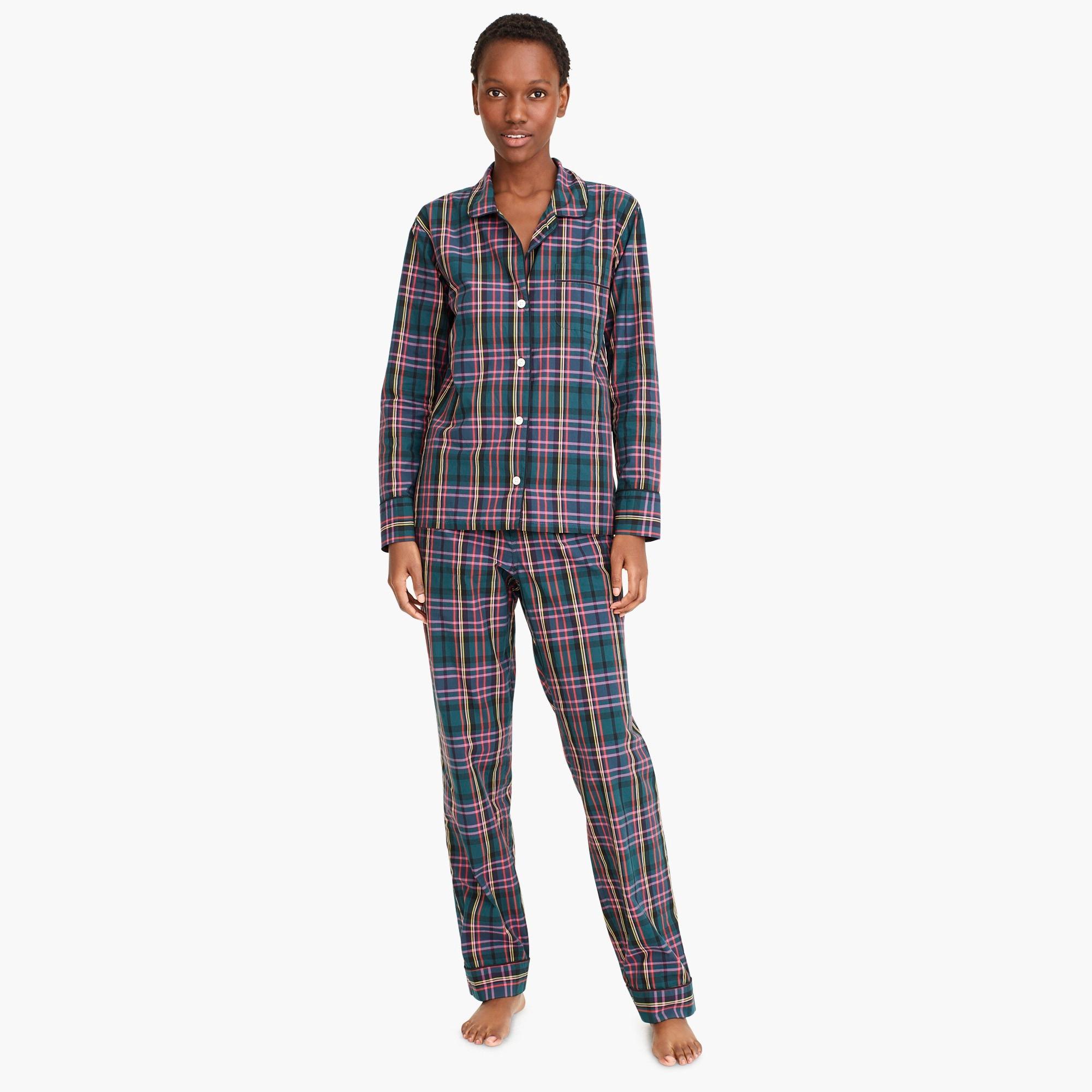 Image 3 for Vintage pajama set in J.Crew Signature Tartan