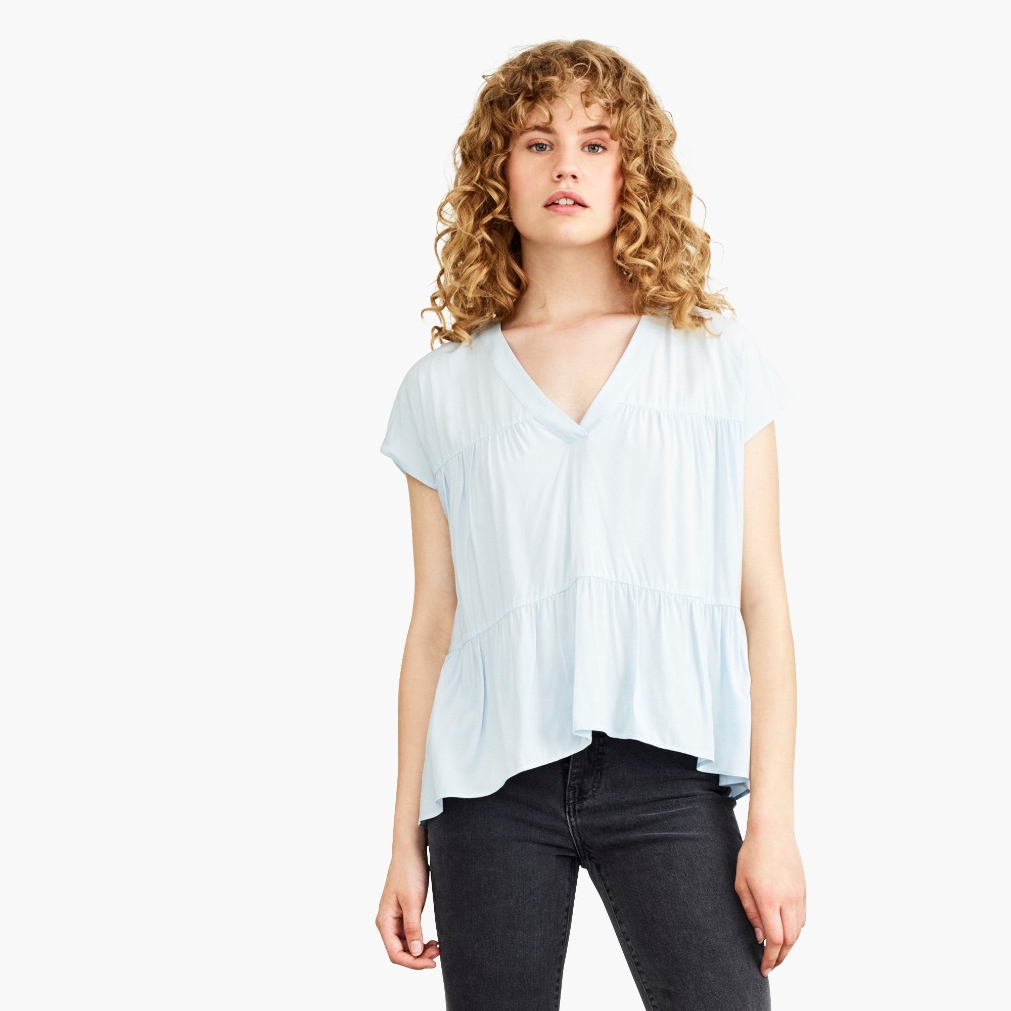 womens Nevereven triple tier top
