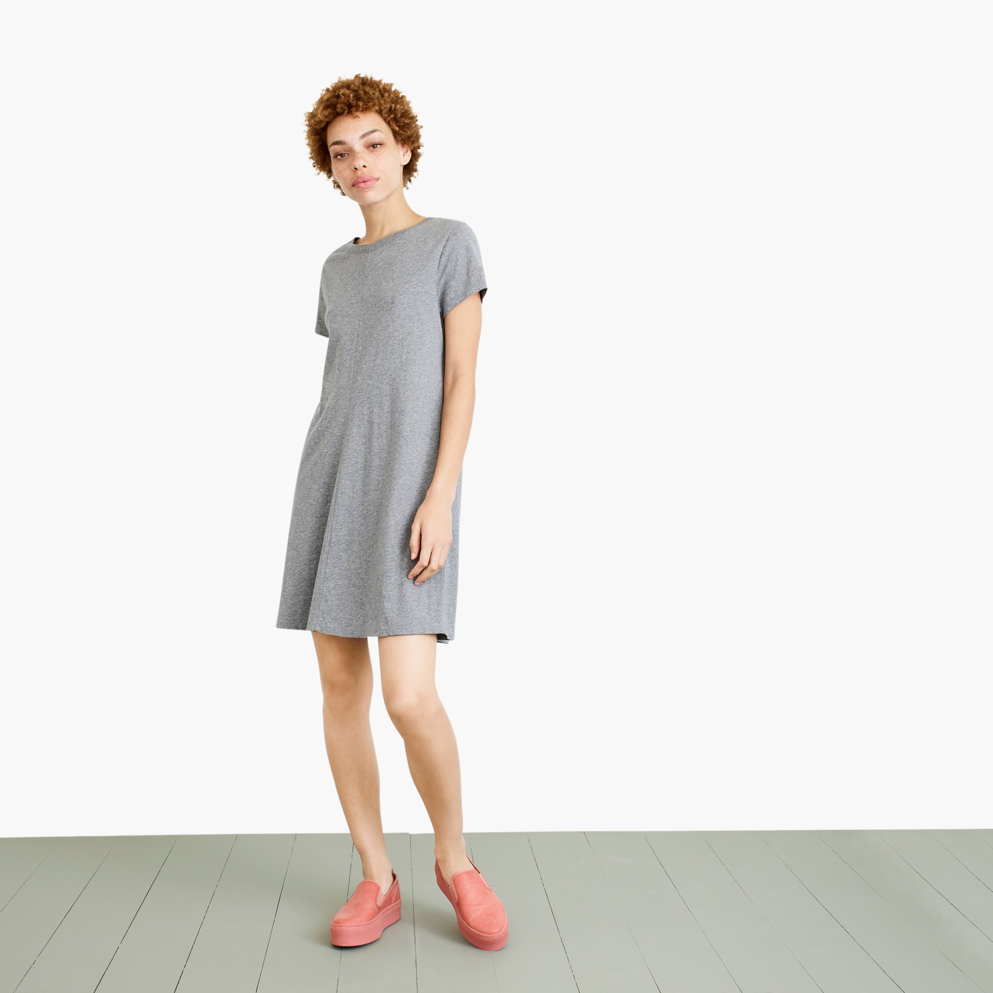 womens Nevereven crewneck T-shirt dress