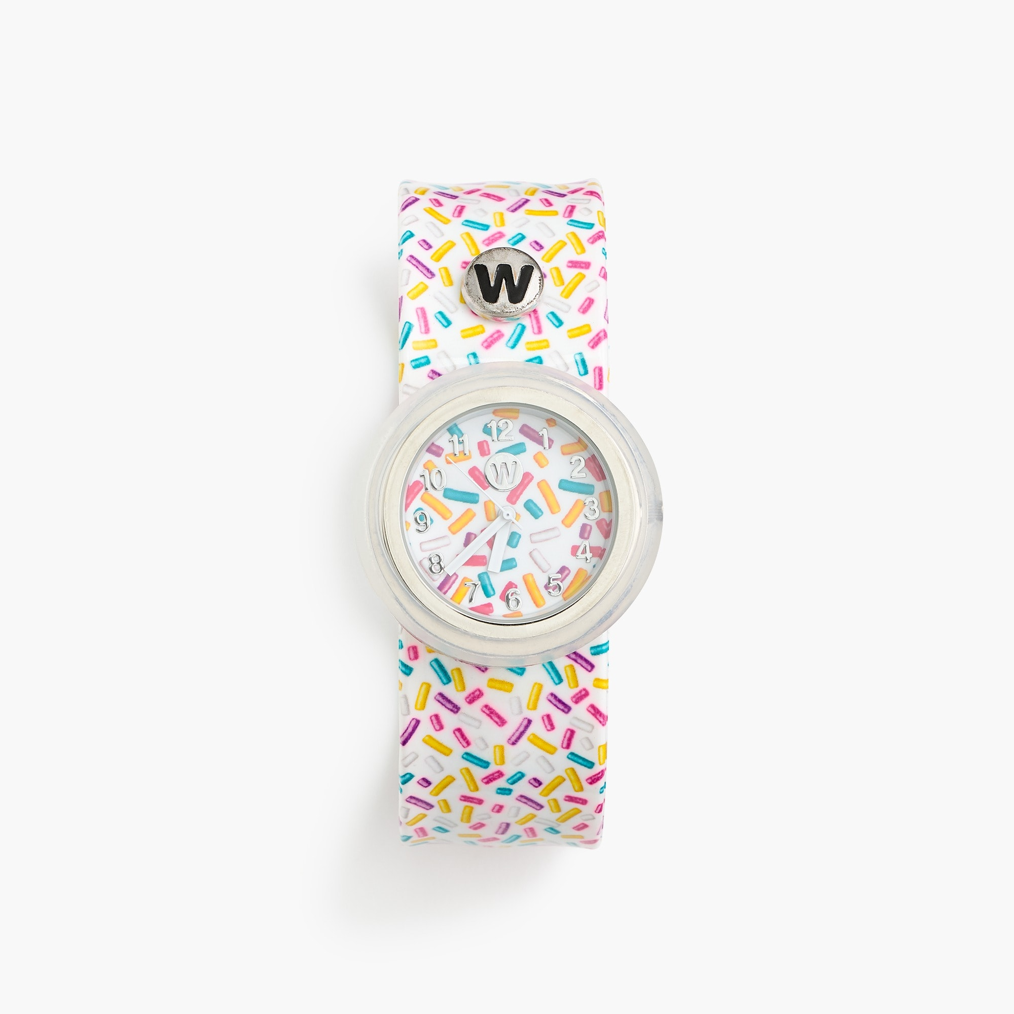 girls Girls' Watchitude slap watch in sprinkles