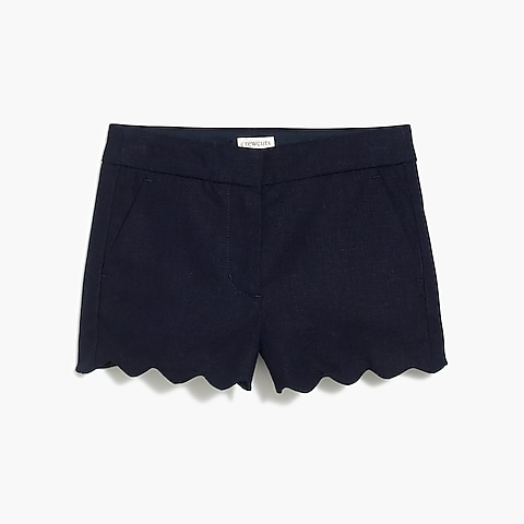 factory girls Girls' scallop-hem short