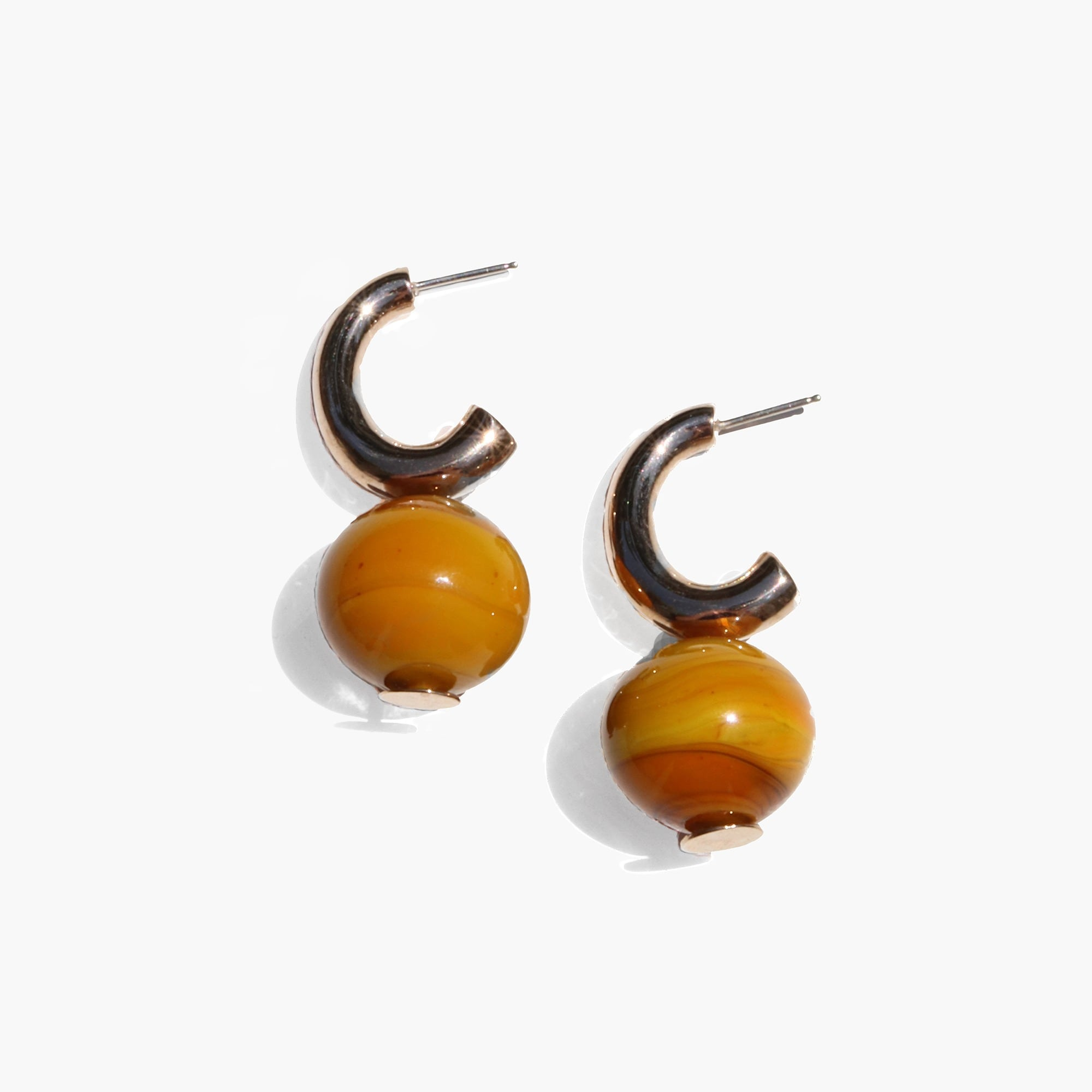 womens Modern Weaving™ C-curve earrings