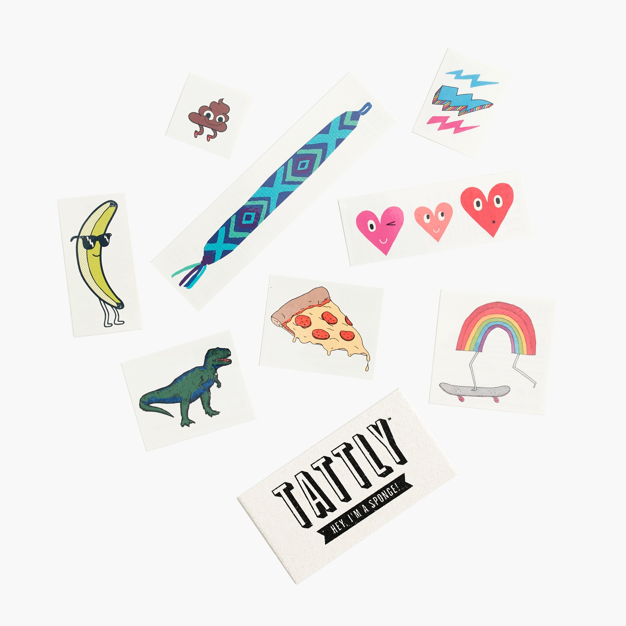 girls Girls' Tattly® temporary tattoos