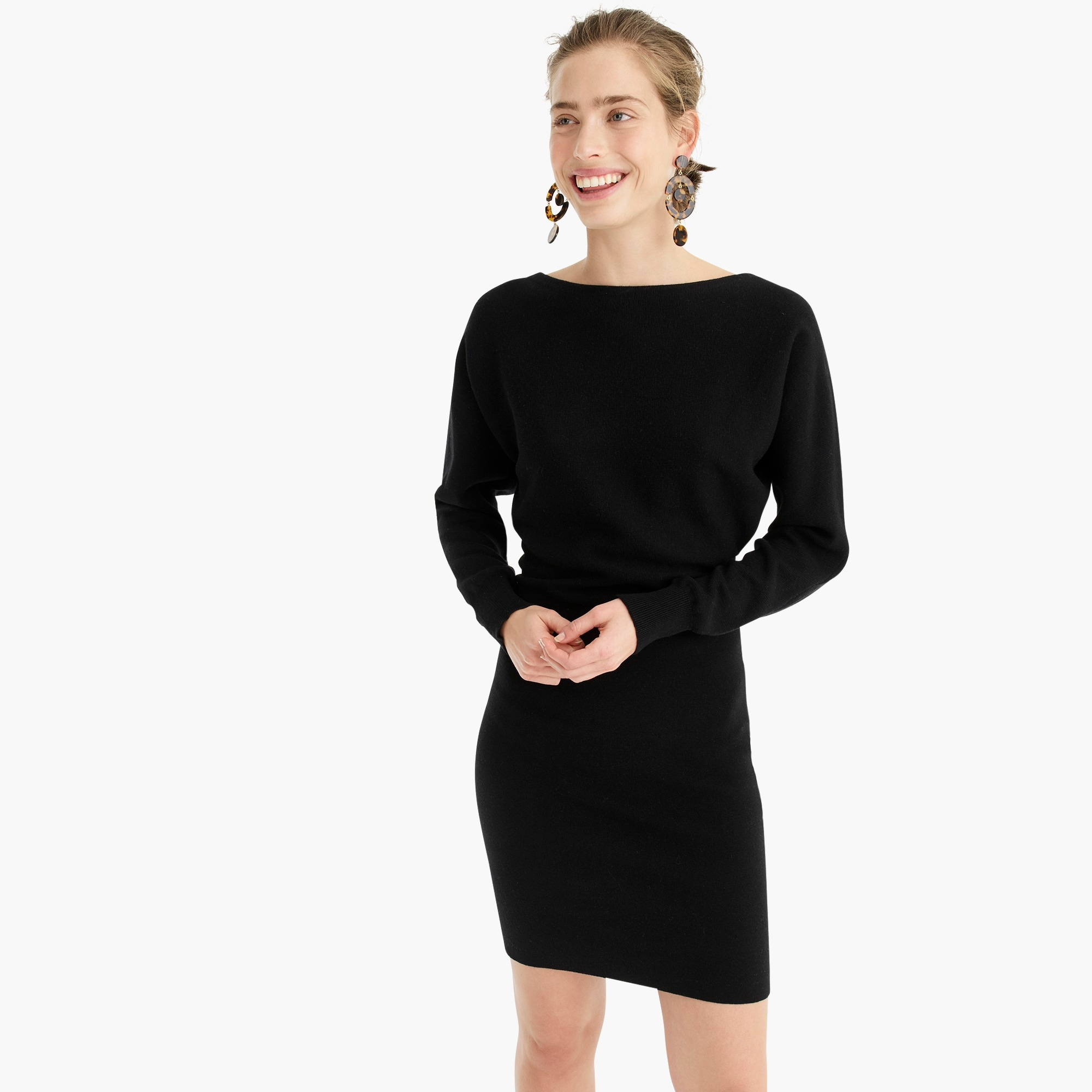 womens Dolman-sleeve sweater dress