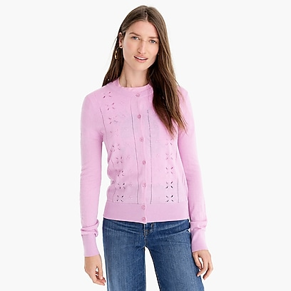 Women's Pullovers Cardigans Sweaters More crew J amp; 1rErq