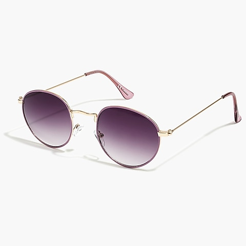 factory girls Girls' round sunglasses