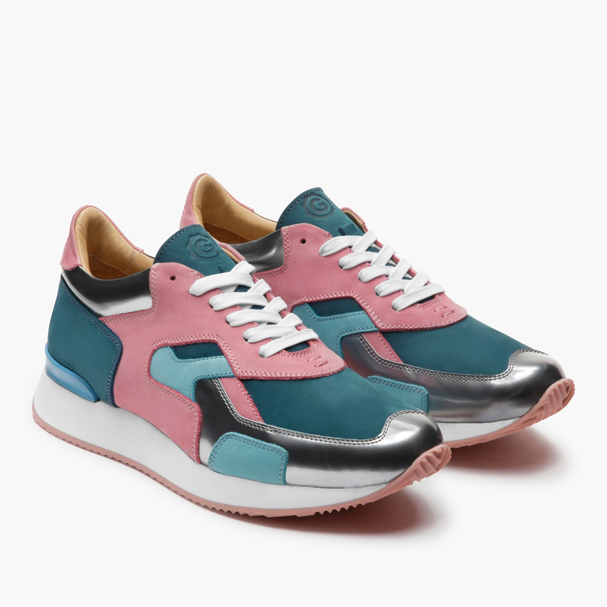 womens GREATS® Pronto sneakers in blush