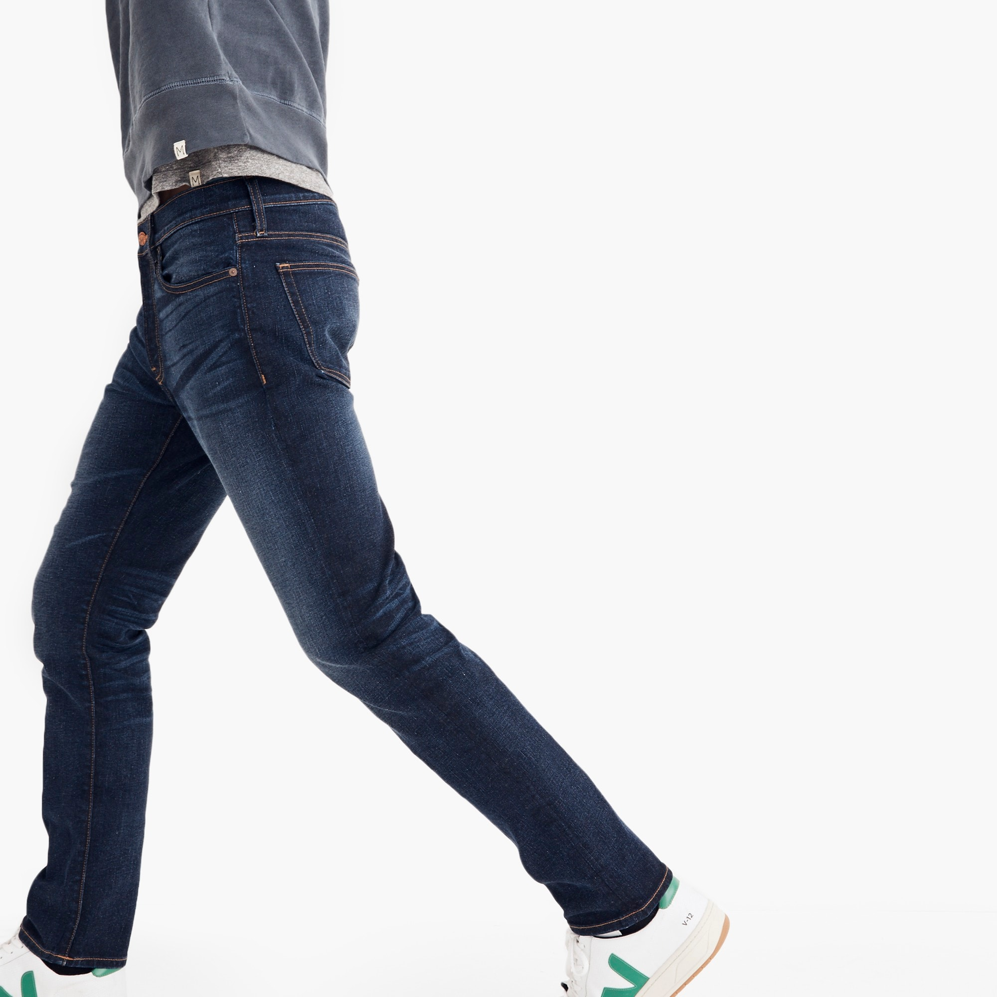 Image 2 for Madewell slim jeans in dark blue wash