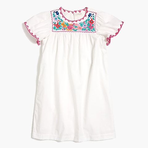 factory girls Girls' embroidered dress