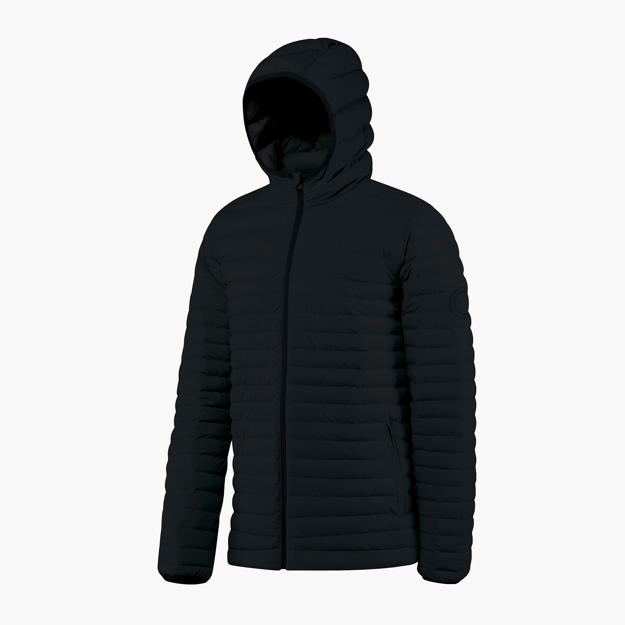 mens Fisher + Baker™ Passage hooded jacket
