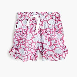 Girls' SZ Blockprints™ for crewcuts ruffle pull-on short