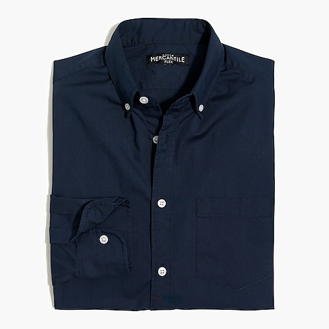 factory mens Solid slim flex casual shirt