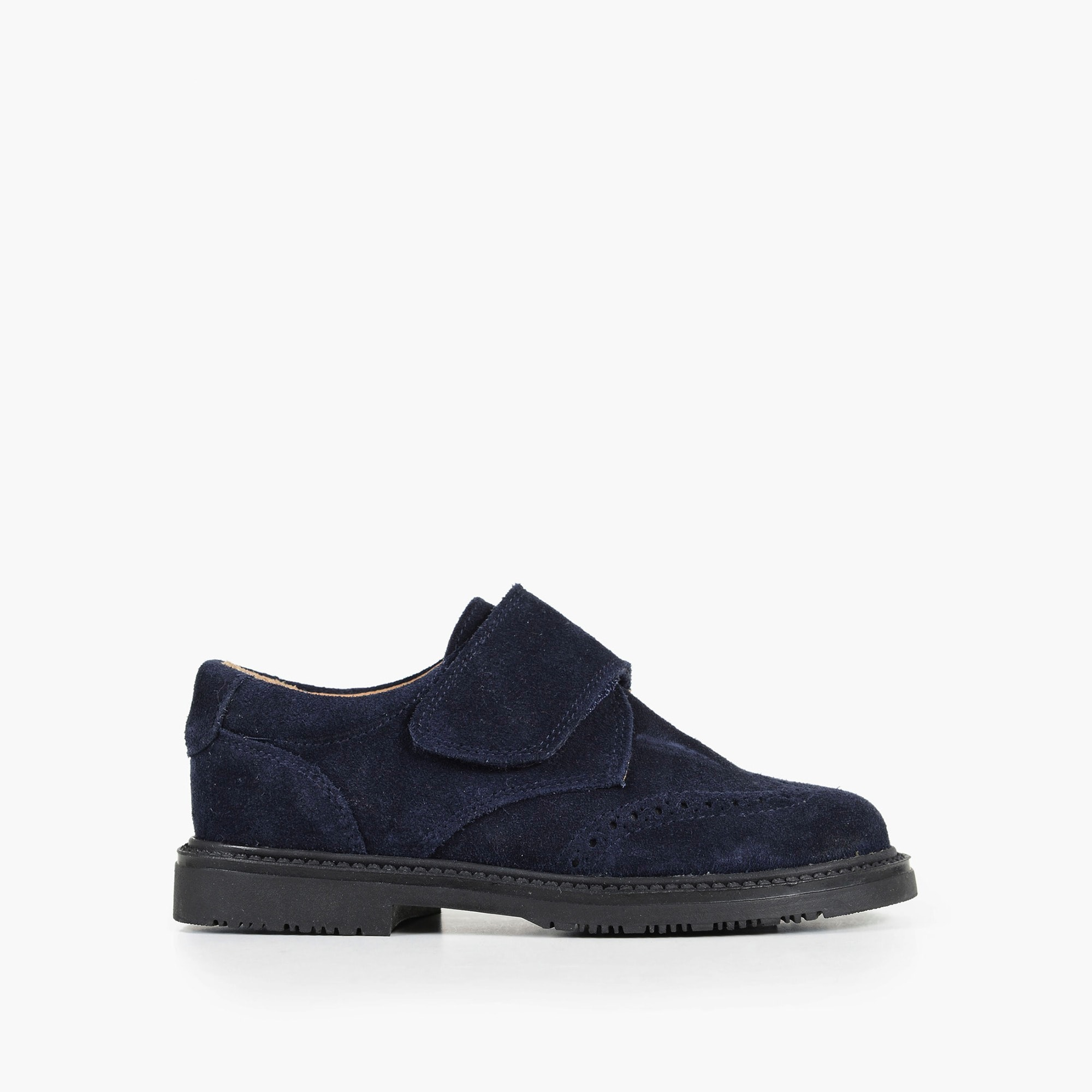 boys Boys' Childrenchic® Velcro® loafers in navy suede