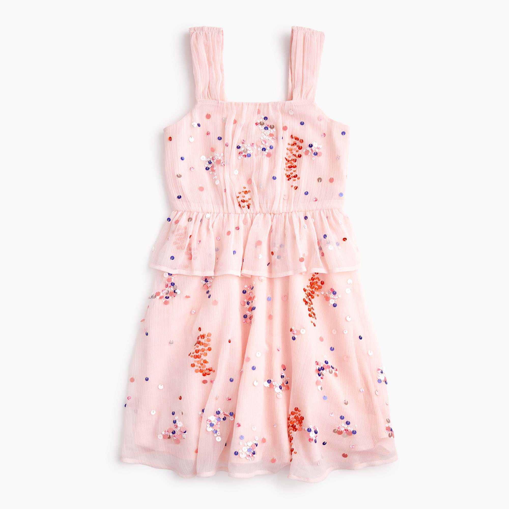 girls Girls' scatter-sequin dress