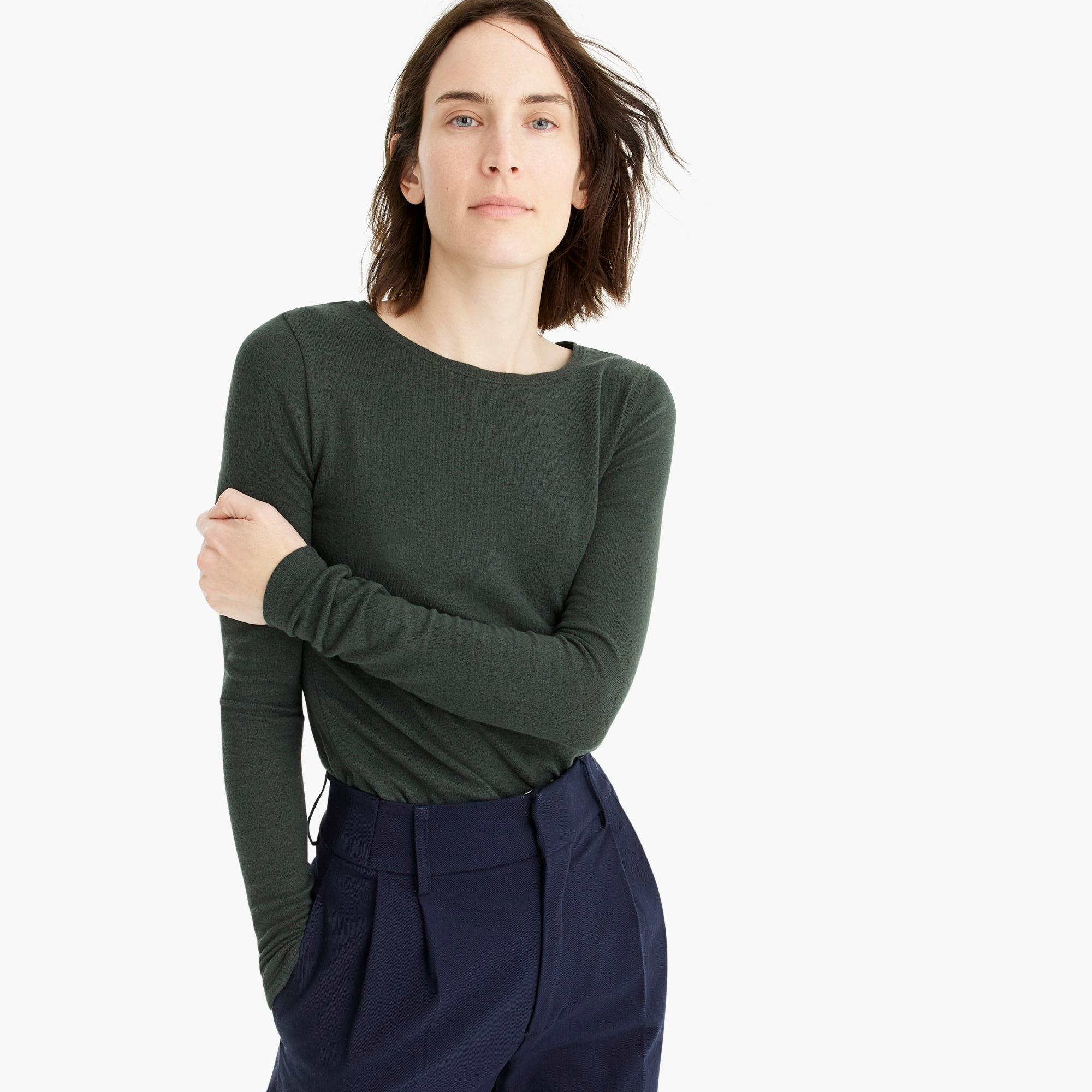 Supersoft long-sleeve shirt