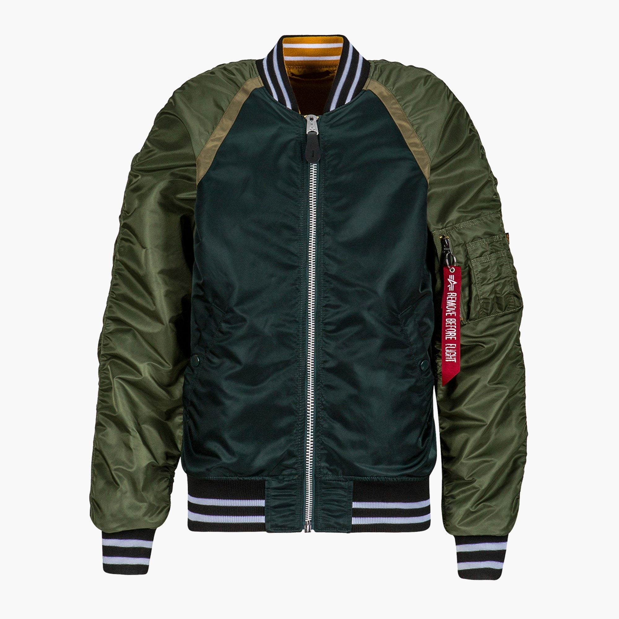 mens Alpha Industries® L-2B raglan bomber jacket
