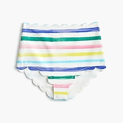 Marysia™ Bumby X Girls' crewcuts bikini bottom in rainbow stripe