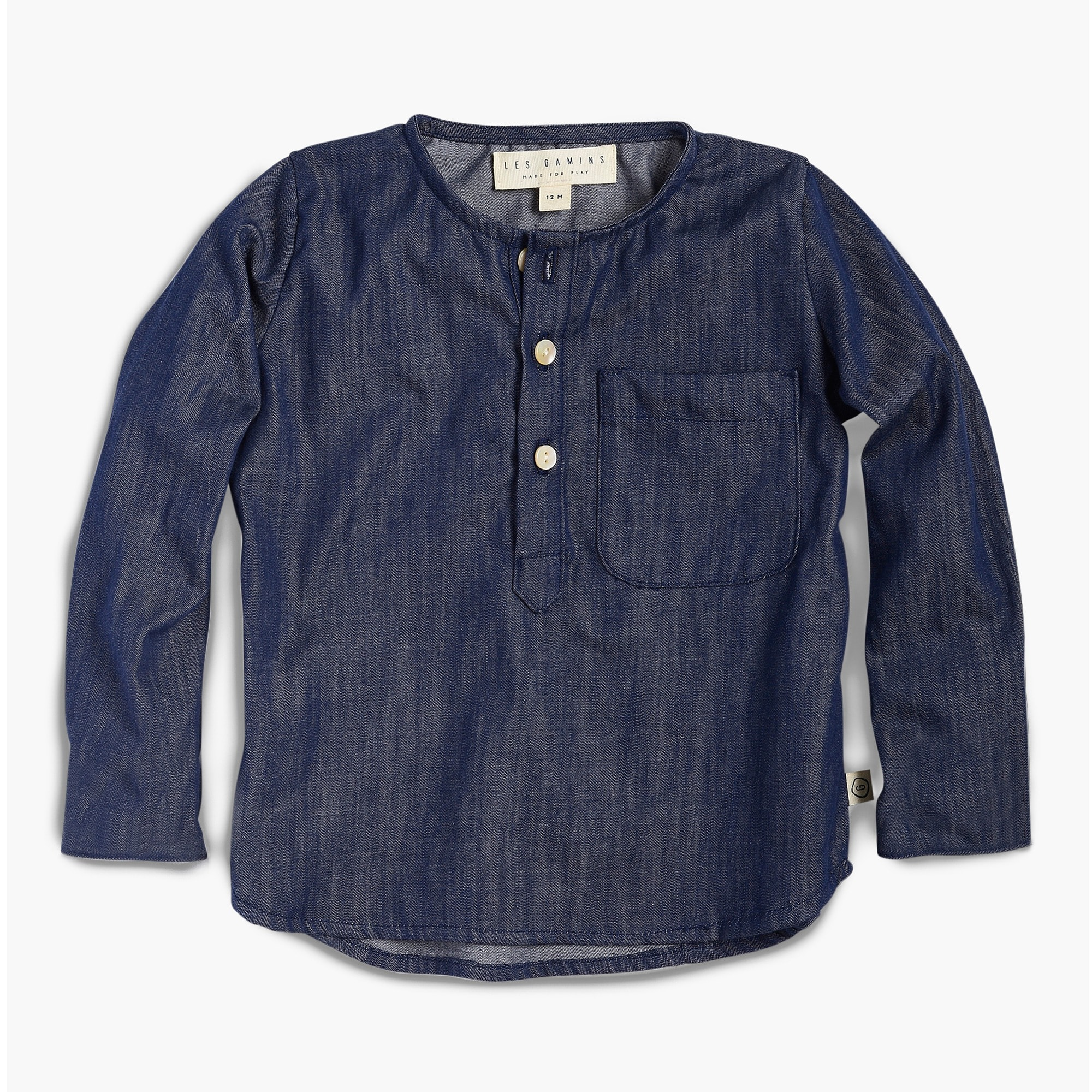 boys Kids' Les Gamins chambray shirt