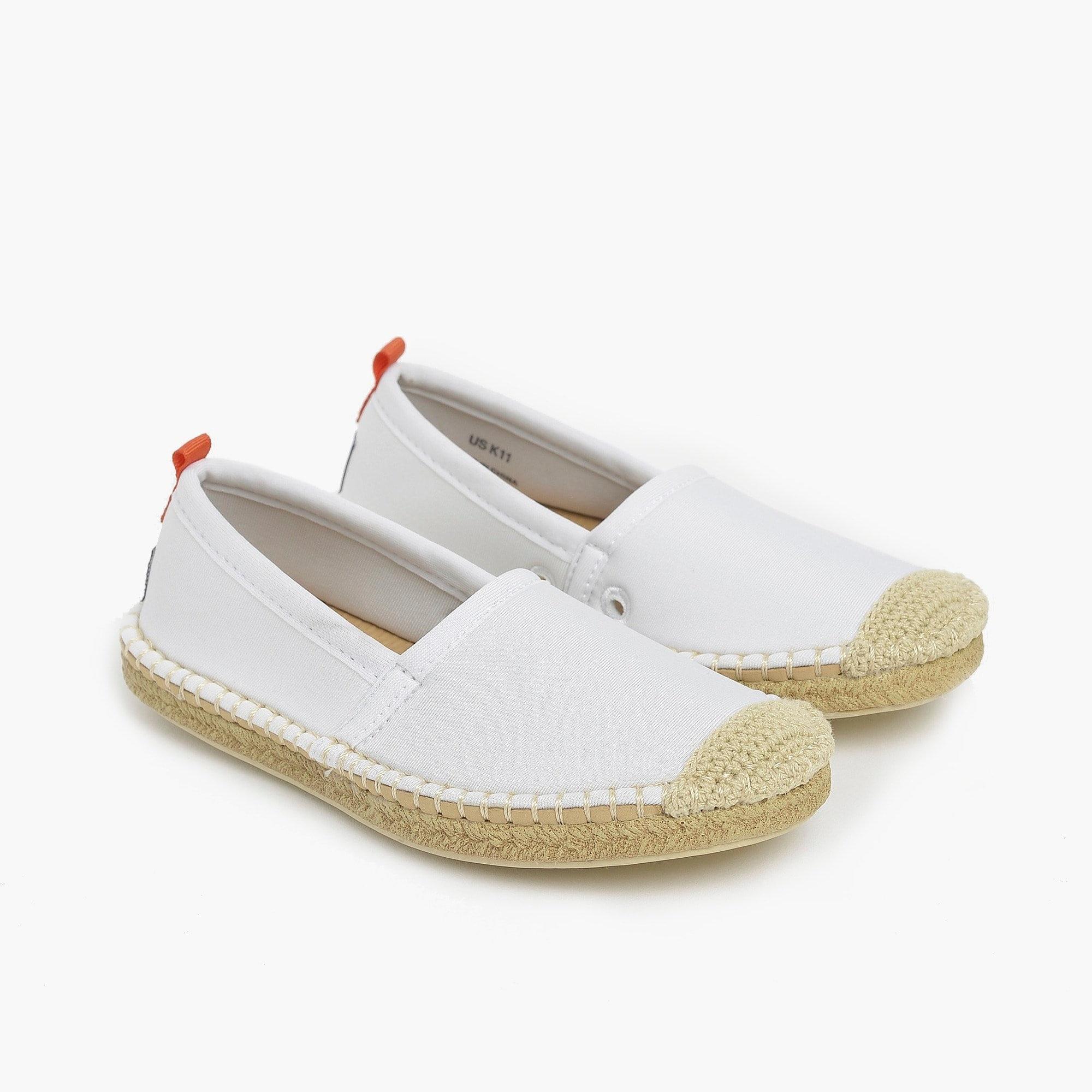 boys Kids' Sea Star Beachwear® Beachcomber espadrille water shoes in white
